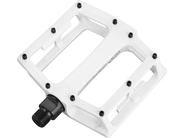 Reverse Super Shape 3D Pedals white